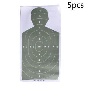 5pcs-Tirant-sur-des-cibles-de-tir-Silhouette-Target-Practice-Arrow-Arrow-Chasse