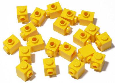 50 Lego Bausteine 1x1 gelb Konverter mit 1 Noppe Stud NEU 87087