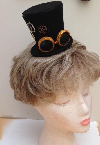 Steam Punk Mini Top Hat