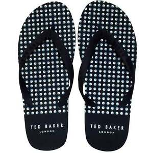 f9028c919f90 Image is loading Ted-Baker-Flyxx-5-Geometric-Dots-Print-Rubber-