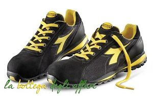 Dettagli su Scarpe antinfortunistiche DIADORA UTILITY Active Glove II Textile colore nero
