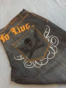 Blac Boot Cut Jeans Sz 38 Nuovo 34 Label wR8fqr5w