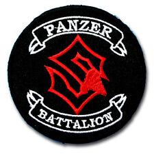 Sabaton Panzer Battalion Patch Iron on Heavy Metal Band Music Rock Badge Punk MC