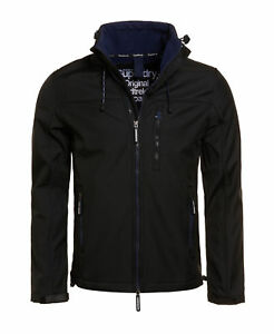 New Mens Superdry SD-Windtrekker Jacket Black