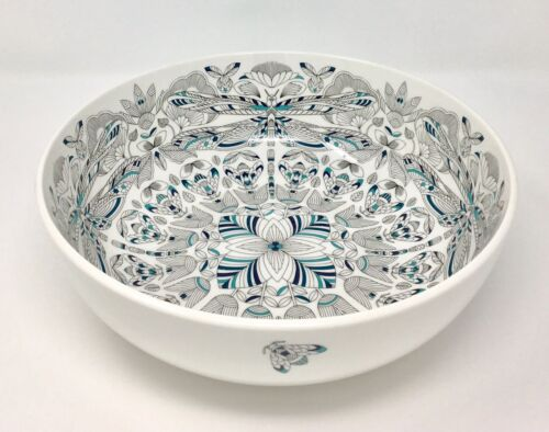 BNWT Millie Marotta Dragonfly Large serving Bowl Fine China