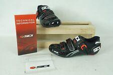 Sidi Genius Fit Carbon Road Cycling Shoes - Women's 42.5 Black Vernice