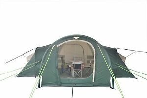 Image is loading 6-Person-LARGE-Inflatable-Family-C&ing-Tent-Model-  sc 1 st  eBay & 6-Person LARGE Inflatable Family Camping Tent: Model FIJI | eBay