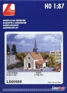 Collection Ici Lima Jouef L600989 Chiesa. Eglise, Dorfkirche, Church Ho 1:87 Divers Styles