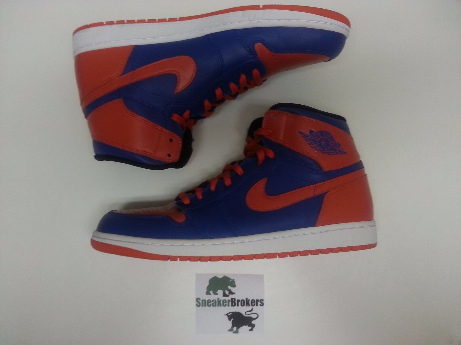 Air Jordan 1 Retro High OG Knicks Royal Blue Orange. Comfortable Seasonal clearance sale