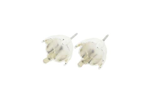 EE 3 8.5mmClassic Stud DIY Earring BasesThree Pairs