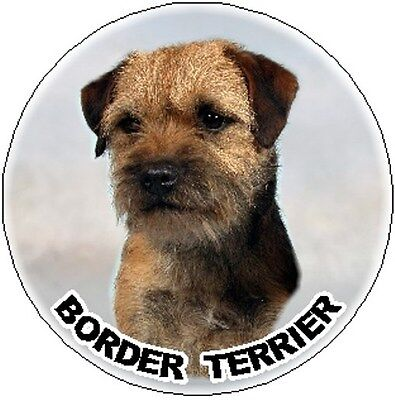 Auto combined postage No 1 Border Terrier Key Ring By Starprint