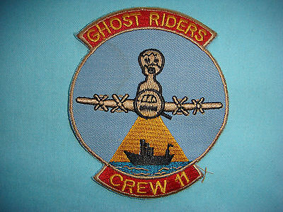 """VIETNAM WAR PATCH, USAF 16th SPECIAL OPERATIONS SQUADRON """" CREW 11 """""""