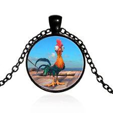 Moana Cute Heihei Pendant Necklace Pendants Kids Jewelry party gifts