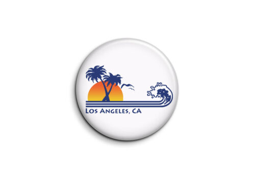 Los Angeles 1 USA Badge 25mm Button Pin