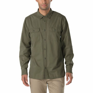 Vans-Off-The-Wall-Men-039-s-Arlington-L-S-Woven-Shirt-Retail-55