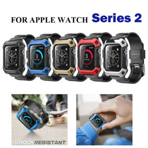 For-Apple-Watch-2-42mm-SUPCASE-UBPro-Full-Body-Band-Strap-Shockproof-Case-Cover