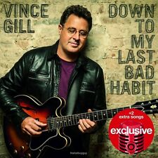 Vince Gill Down To My Last Bad Habit CD 2 BONUS 2016 TARGET Exclusive New