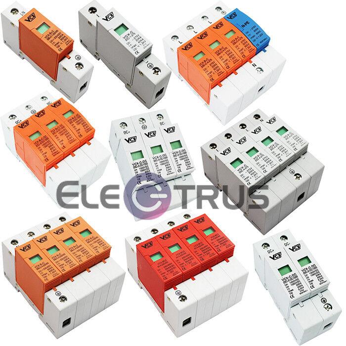 Überspannungsschutz,Blitzschutz AC für Netzwerk,DC für Photovoltaik,PV-Anlagen   Discount