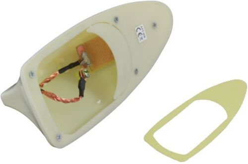 Shark Auto Requin Toit Barre Antenne Pied Socle Radio Set Hyundai Blanc