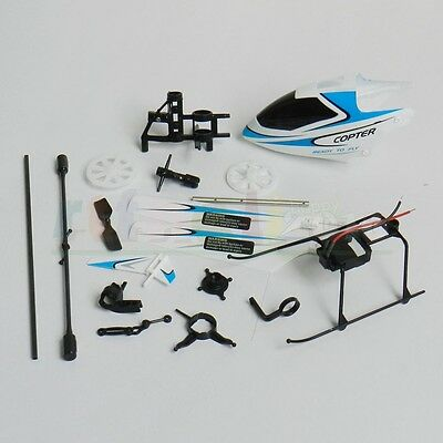 WLtoys WL V911 V911-1 2.4Ghz 4Ch RC Helicopter main spare parts package-Blue.