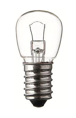 Glühlampe Glühbirne Niederspannung klar 12V 5W E14 22x48 mm Speziallampe