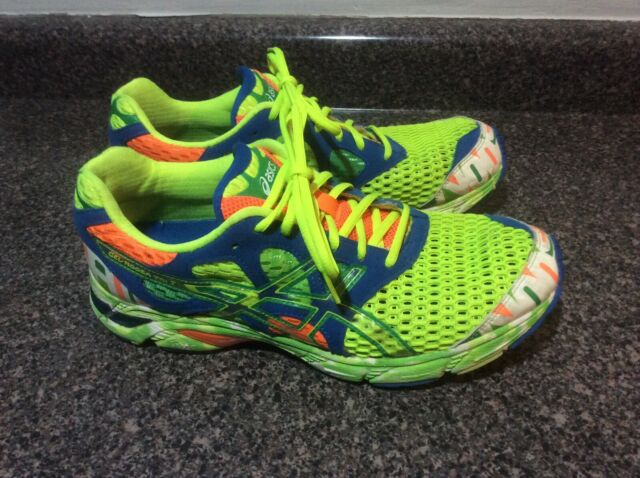 asics mens multi colored running shoes