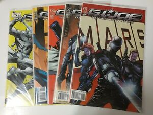 Alternative-comic-lot-GI-Joe-Operation-Hiss-1-5-and-more-NM-Bagged-and-Boarded