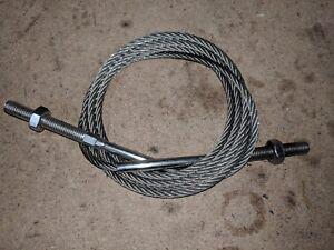 1 X Tondeuse Racloir Câble 203cm Lg