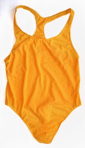 G3028 E Mens Thong Bodysuit Leotard Eyelet Jacquard Swimwear Tricot