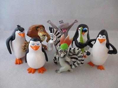Comansi Spiel Sammel  Y99930-1 Madagascar Set 4 Figuren Kuchen Topper