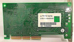 NVIDIA-e-TNT2-VANTA-016-A4-NV05-M1-16MB-AGP-VIDEO-GRAPHICS-ADAPTER-BOARD-SP5200B