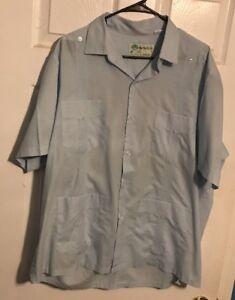 e2ea149ba745 Panabrisa Corona 4 Pocket Button Up Shirt Light Blue Summer Shirt ...