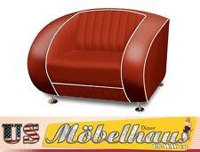 SF-01-Ru Bel Air Fifties Style Designer Sofa Wohnzimmer Sessel Retro 50er Jahre
