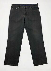 Bugatti jeans uomo usato W42 tg 56 gamba dritta denim straight boyfriend T5371