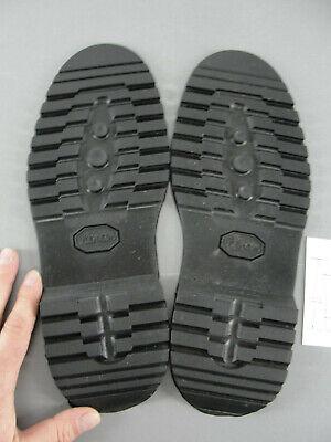 Soletech 148 \u2018Flat Lug\u2019 Black Fullsole Rubber Replacement Shoe Repair