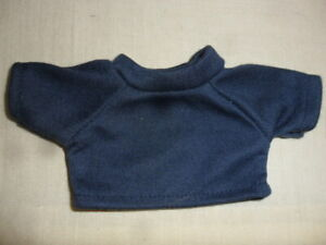 New-Small-T-Shirt-Dark-Blue-For-Approx-7-7-8in-Bears