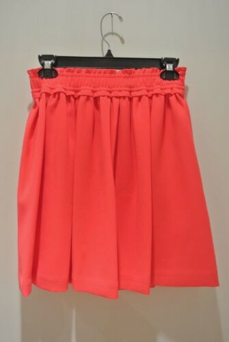 Waist Skirt Spade Elastic pocket; kate Nwt Color Geranium xs qvFAXwY