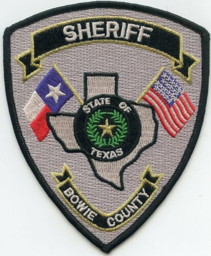BOWIE COUNTY TEXAS TX SHERIFF POLICE PATCH