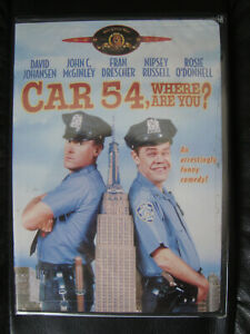 Car 54 Where Are You Dvd 2003 Rare Star Cast 1994 Comedy Brand
