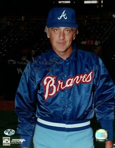 Phil-Niekro-Signed-8X10-Photo-034-HOF-97-034-Autograph-Braves-Warmup-Jacket-Auto-w-COA