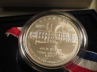 mint pkg//coa Old San Francisco Mint 2006 US Mint UNC Silver Dollar
