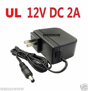 Wennow Security Cameras 8 Port 12V 5A DC Power Adapter for Q-See Zmodo Swann
