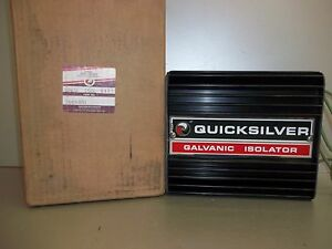 quicksilver mercruiser galvanic isolator c 76664a1 ebay rh ebay com Marine Galvanic Isolator How It Works Galvanic Isolator Fittings