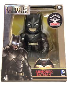 BATMAN ARMORED versione BATMAN SUPERMAN V 4 pollici M4 Metal Diecast Figura