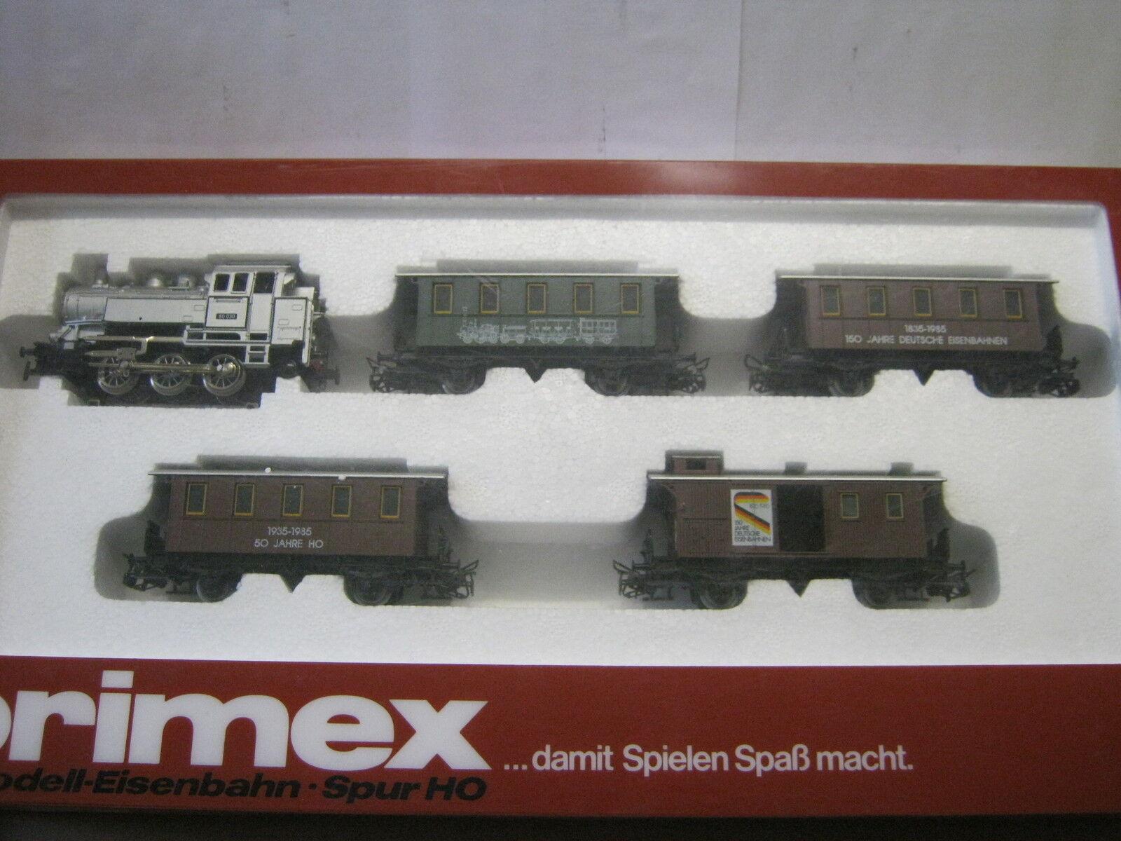 Marklin PRIMEX ho 2750 treno Set 150 anni ferrovie tedesche (rg rj 022-48s1 5)