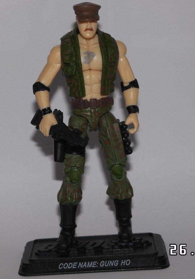 Action Force GI Joe 25th Anniversary Gung Ho Rare variant complete