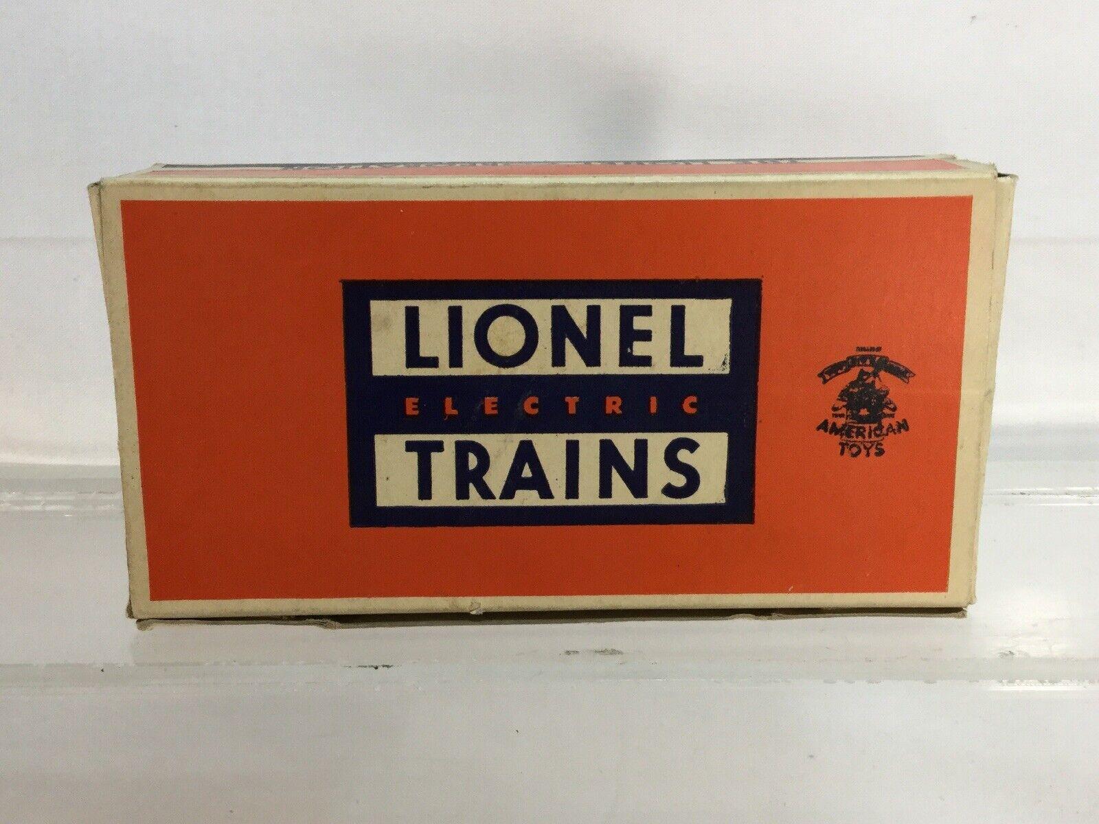 Ultra Raro Trenes Lionel figura conjunto de la posguerra Caja Original Excelente