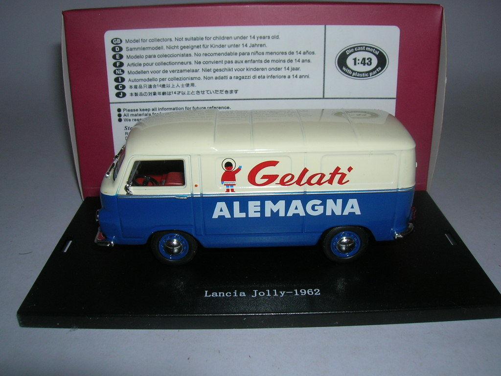 Starline Lancia Jolly  avoir Alemagna  année modèle 1962 Bleu Blanc bleu blanc, 1 43