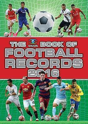 """""""AS NEW"""" Clive Batty, Vision Book of Football Records 2016, The, Hardcover Book"""