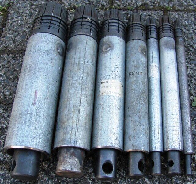 Rems Llave Pezón nippelhalter para piezas de tubo boquilla doble P. EJ. AMIGO